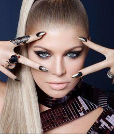 I love metallic, sequins and Fergie