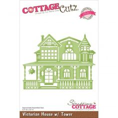 CottageCutz Elites Die - Victorian House W/Tower
