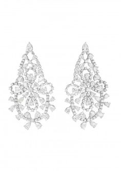 Chopard Pair of Earclips An Exquisite Pair of Diamond Earrings