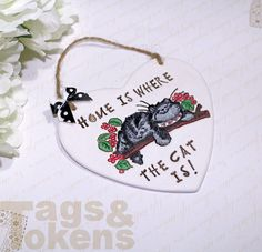Home is Where the Cat Is! - Tags and Tokens