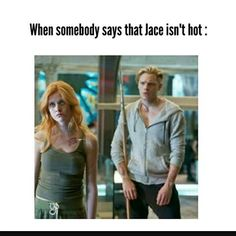 Book Jace is hot. If I have to say whether Mathew Daddario or Dominic Sherwood is hotter I would definitely go for Matt. No competition.