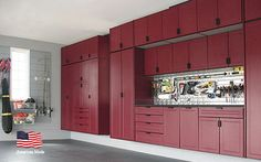 Home - Garage Cabinets - Direct from the Manufacturer . . . Made in The USA