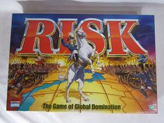 Risk Global Domination Board Game 1998 100% COMPLETE!  #ParkerBrothers