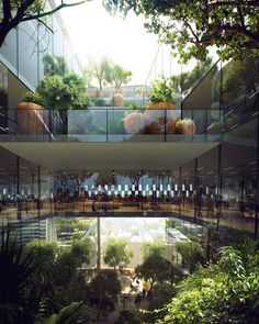 Gallery of Snøhetta's Terraced, Geometric Tower Wins Competition for Bank…