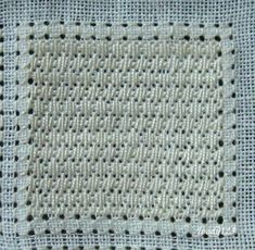 Whitework Embroidery: SAL Pulled Thread Pattern No.1-8