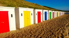 Woolacombe Beach. England Devon England, Seaside Beach, Beach Huts, Woolacombe Beach, North Devon, Enjoying Life, Deck Chairs, Going On Holiday, Hidden Treasures