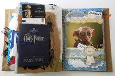 Smash book pages (& flip) by Jennibellie http://jennibelliestudio.blogspot.com/2013/05/smashbook-flipping.html