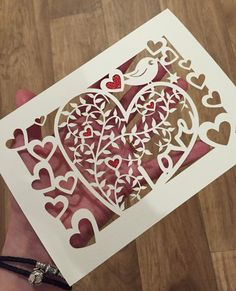 A personal favourite from my Etsy shop https://www.etsy.com/uk/listing/274049772/papercut-template-leafy-loveheart