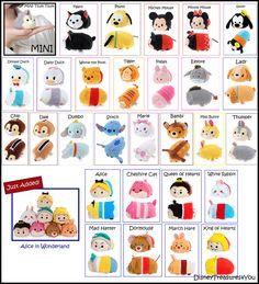 Disney Store Tsum Tsum Japan Stackable Plush Doll Toy Stuffed Set Lot US Seller | eBay