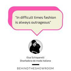 Elsa Schiaparelli dijo que... #frasemoda #fashionquotes #quotes #LaFrase #diseñadorademoda #ElsaSchiaparelli