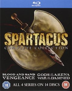 Spartacus: The Complete Collection [Blu-ray]: Amazon.co.uk: Liam McIntyre, Andy Whitfield: DVD & Blu-ray