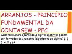 Curso de Matemática Estatística e Raciocínio Lógico Contagem de arranjos...