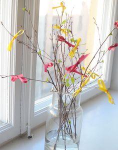 Easter Påskris med rosetter | Hemma med Helena