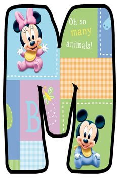 Daisy Duck, Baby Letters, Monogram Alphabet, Baby Scrapbook, Tricks, Initials, Lunch Box, Family Guy, Cut Outs