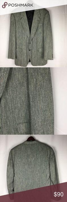"Pierre Baldwin Men's Blazer Size 46 XL Pierre Baldwin Men's Gray Herringbone Sport Coat Blazer Size 46 XL, Length 24"", chest 48"", waist 44"", sleeve 27.5"". SMOKE FREE HOME Pierre Balmain Suits & Blazers Sport Coats & Blazers"