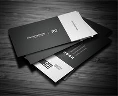 Simple Business Card by FlowPixels (via Creattica)