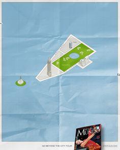 """Mini Maps - New York"" by Lisbon for Volta Ao Mundo Magazine Ad Of The World, Travel Magazines, Lisbon, New York, Tours, City, Cannes, Maps, Design Ideas"