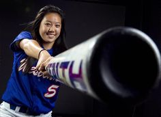 Softball Pose, but substitute the bat for my tennis racket and this pose is perfection!
