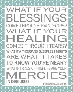 Blessings~LOVE this song! I listened to this song all the time after my FIL died. It really helped me get through that difficult time. This is my go to inspiration from God whenever I am faced with difficulty.