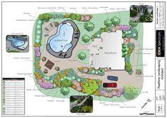 landscape plans | Landscape Design Software by Idea Spectrum - Realtime Landscaping ...