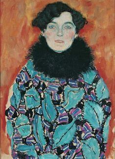 Portrait of Johanna Staude - Klimt, Gustave (Austrian, 1862 - Fine Art Reproductions, Oil Painting Reproductions - Art for Sale at Bohemain Fine Art Klimt, Art Prints, Sketches, Fine Art, Art Reproductions, Gustav Klimt, Painting Reproductions, Art, Klimt Art