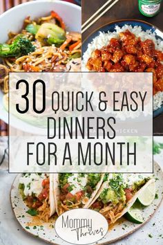 weeknight dinners filling quick month easy must make that for and are you try to Easy Weeknight Dinners That Are Filling and Easy to Make Easy Dinners for a Month 30 Quick and You can find Delicious dinner recipes and more on our website Easy Dinners For Two, Dinner Recipes Easy Quick, Easy Weeknight Dinners, Quick Easy Meals, Healthy Dinner Recipes, Cooking Recipes, Cheap Easy Dinners, Quick Supper Ideas, Quick Cheap Dinner Ideas