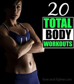 20 of the best total-body workouts from Tone-and-Tighten.com