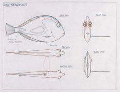 Model Packet, Dory, Finding Nemo, 2003