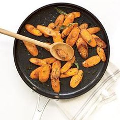 """You can easily double, triple, or quadruple this small-yield side dish recipe to feed more. As one online reviwer says, """"This takes carrots to a whole new level!"""""""