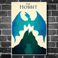 Hobbit poster print. Great giveaway idea.