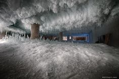Defrosting a Building: Otherworldly Icescapes Inside a Historic Chicago Cold Storage Facility