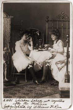 meal in bedroom 1900 by janwillemsen, via Flickr