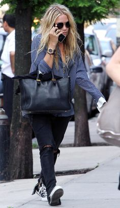 Mary Kate And Ashley Olsen Style Mary Kate Olsen, Ashley Olsen Style, Olsen Twins Style, Olsen Fashion, Estilo Boho Chic, Mode Outfits, All Star, The Row, Lady