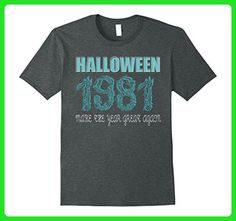 Mens 36 th Birthday shirt Halloween costume ideas 1981 T-shirt Medium Dark Heather - Birthday shirts (*Amazon Partner-Link)