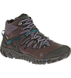 Official Merrell Site – Find sturdy women's hiking shoes perfect for speed hikes or day trips when you need a little more security on the trail. The women's All Out Blaze Mid Waterproof helps you handle treacherous terrain.