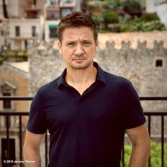 Jeremy Renner in Italy 2016