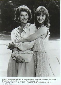 Dallas Rebecca Wentworth Pamela Ewing