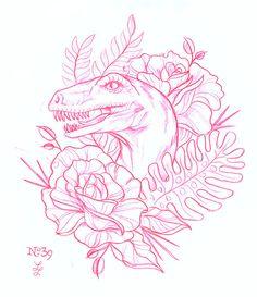 (1) tattoo art | Tumblr -- adapt into a needle point?