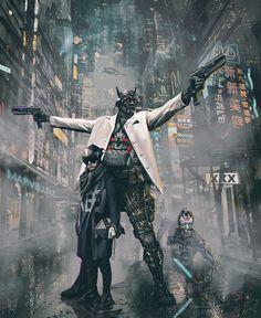 The Job – cyberpunk concept. Cyberpunk 2077, Cyberpunk Kunst, Cyberpunk City, Cyberpunk Aesthetic, Future City, City Collage, City Sketch, City Drawing, Creation Art
