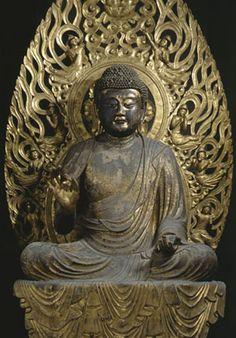 木造弥勒如来坐像 国宝  法相宗大本山 興福寺 北円堂