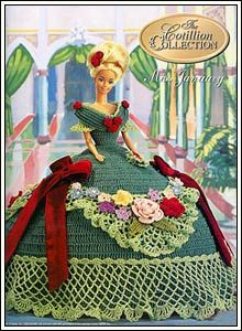 Barbie Crochet: Miss January 1992. The Cotillion Collection. For Pattern In English: http://knits4kids.com/collection-en/library/album-view?aid=2405&series=2039&code=en#foobox-1/1/CAL%252520-%2525201992%252520The%252520Cotillion%252520Collection%252520-%252520Janvier%252520%2525281%252529.jpg?imgmax=800
