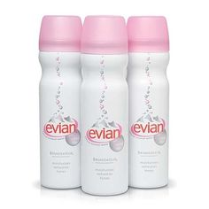 using Evian spray brings such great moisture to your skin... Great to take to the beach, camping or tailgating... Oh so refreshing.