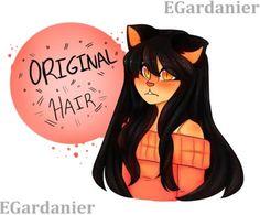Kawaii~chan real hair by egardanier