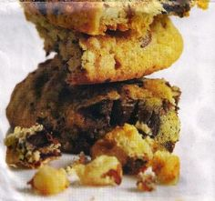Banana Walnut Chocolate-Chunk Cookies, by Julie Music from Cook With Julie!, is from Fabulous Family Cookie Recipes, one of the cookbooks created at FamilyCookbookProject.com.