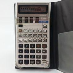 Vintage Casio Programmable Scientific Calculator fx-3600P in Case Tested Japan…