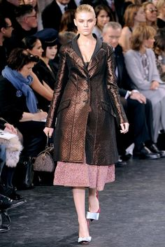 Louis Vuitton Fall 2010 Ready-to-Wear Fashion Show - Maryna Linchuk