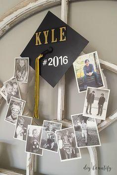 Graduation Memory Wreath | diy beautify