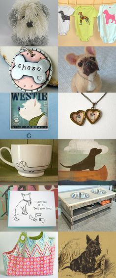 For the Love of Dogs by Traci Anderson on Etsy--Pinned with TreasuryPin.com