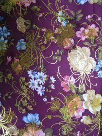 High Density Rayon Brocade Fabric [FB092] - US$16.99,Purple Brocade Fabric, buy fabric
