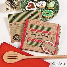 Save on holiday gifts this season with a handmade present straight from your head to their dinner tables! Just add your favorite recipes to this Christmas ...